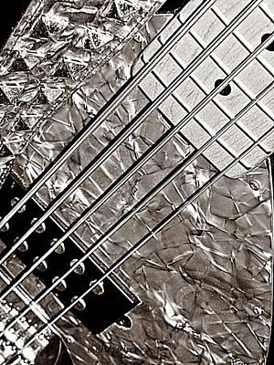 Retro Bass Art Print