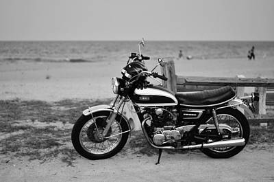 Photograph - Retro Beach Ride by Laura Fasulo