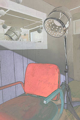 Digital Art - Retro Beauty Parlor by Ann Powell