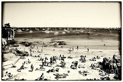 Photograph - Retro Cascais Beach by John Rizzuto