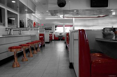 Photograph - Retro Deli by Glenn McCarthy Art and Photography
