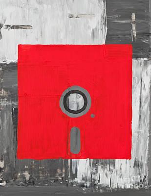 Data Painting - Retro Disc by Shawn Hempel