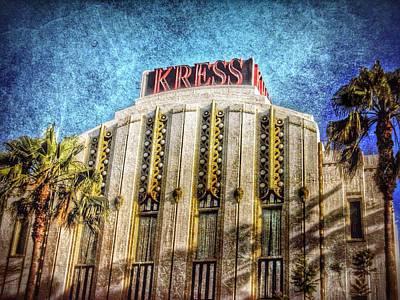 Photograph - Retro Kress by Mark David Gerson