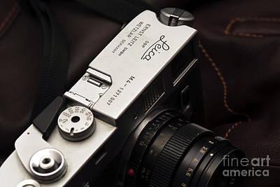 Photograph - Retro Leica M4 by John Rizzuto