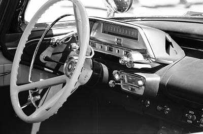 Photograph - Retro Police Dash by Tikvah's Hope