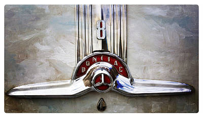 Photograph - Retro Pontiac by Davina Washington