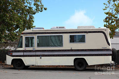 Retro Recreational Vehicle Rv 5d25258 Print by Wingsdomain Art and Photography