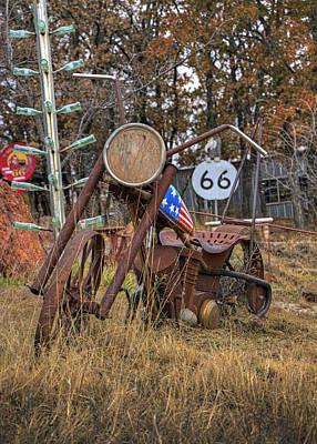 Photograph - Retro Ride by Ricky Barnard