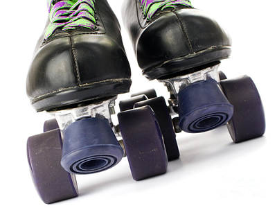 Roller Skates Photograph - Retro Roller Skates by Jose Elias - Sofia Pereira