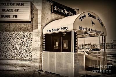 Bruce Springsteen Photograph - Retro Stone Pony by Paul Ward