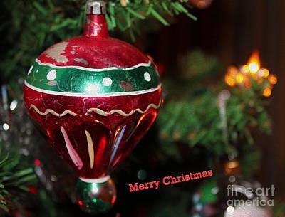 Photograph - Retro Tree Ornament by Nina Silver