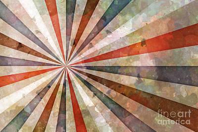 Center Mixed Media - Retrodynamics by Lutz Baar