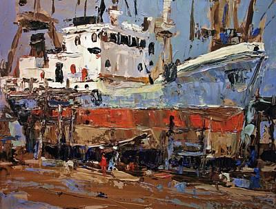 Painting - Retrofit by Brian Simons