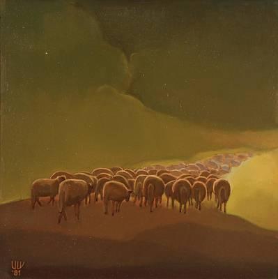 Nature Depiction Painting - Return by Stefan Shikerov
