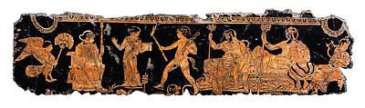 Roman Painting - Return Of Hephaistos by Steve Bogdanoff