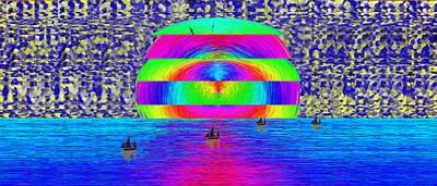 Albatross Digital Art - Return Of The Fleet by Tim Allen