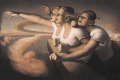 Return Of The Sun Art Print by Odd Nerdrum