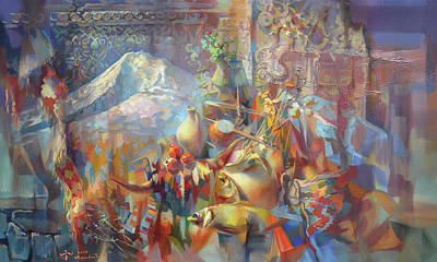 Painting - Return To Ararat by Meruzhan Khachatryan