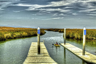Photograph - Returning From The Marsh by SC Heffner