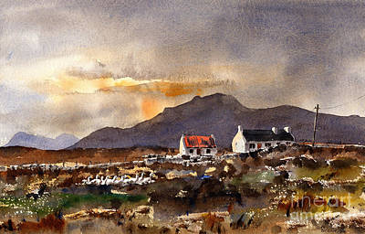 Painting - Returning Home In Achill by Val Byrne