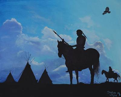 Painting - Returning Home by Stefon Marc Brown