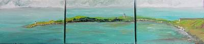 Cape Cod Painting - Provincetown Summer by Maria Milazzo