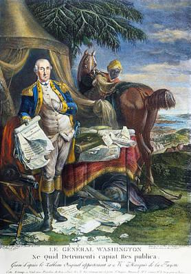 Photograph - Rev. War: Yorktown, 1781 by Granger