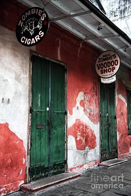 Voodoo Shop Photograph - Rev Zombie's Voodoo Shop by John Rizzuto