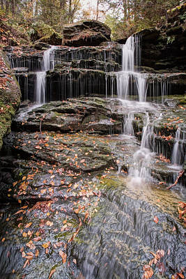 Photograph - Revealing The Hidden Nameless Waterfall by Gene Walls