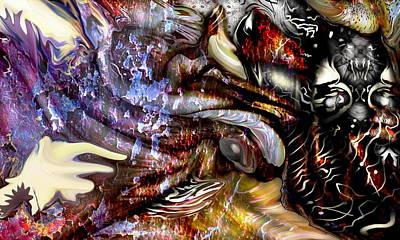 Abstract Digital Art - Revenge by Joyce Rogers