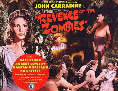 Gale Digital Art - Revenge Of The Zombies by Studio Release