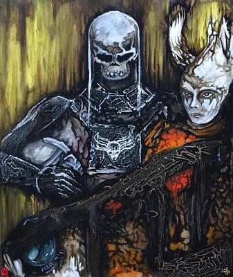 Painting - Revenge Watch by Jakub DK