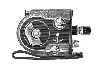 Revere 8 Movie Camera Art Print by Jon Woodhams