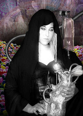 Photograph - Reverence Leather And Chrome 1 Ostara Version by Tarey Potter