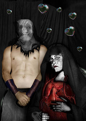 Photograph - Reverence Leather And Chrome 2 Valentine by Tarey Potter