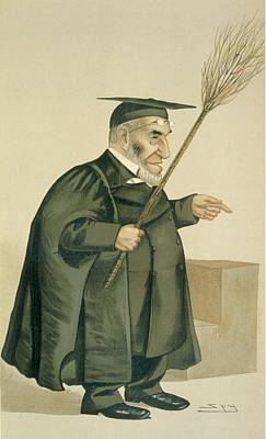 Cartoon Drawing - Reverend James Leigh Joynes by Leslie Matthew Ward