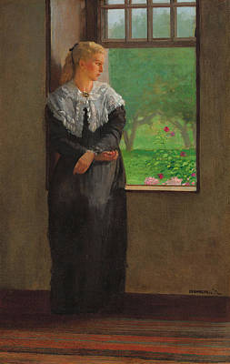 Winslow Homer Painting - Reverie by Winslow Homer