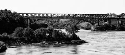 Photograph - Reversing Falls Bridge by Daniel Amick