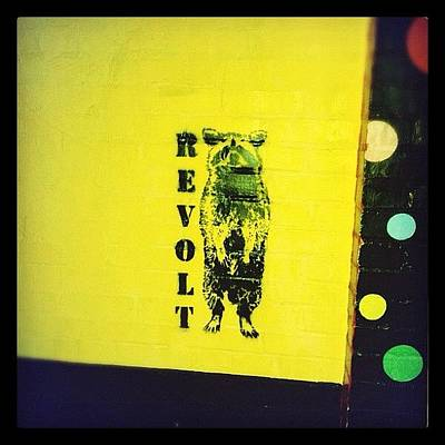 Pop Art Photograph - Revolt by Valerie Olivas