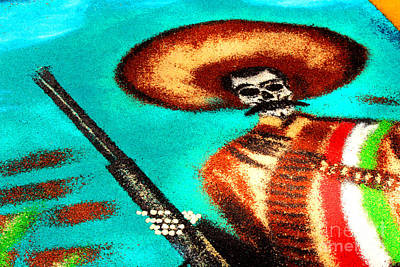 Mexican Tapestry Photograph - Revolucionary by Manuel Bonilla Photography