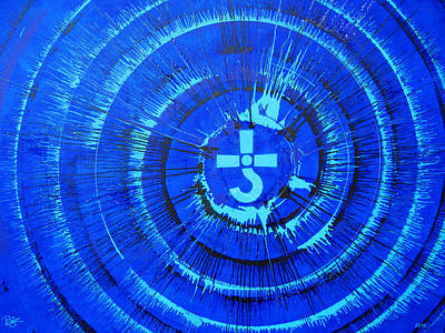 Blue Oyster Cult Painting - Revolution By Night by Lance Bifoss