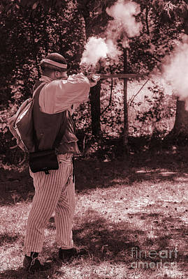 Revolutionary Wars Re-enactment Photograph - Revolution by Elvis Vaughn