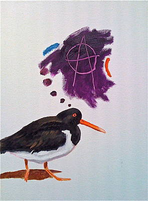 Painting - Revolutionary Bird by Dan Koon