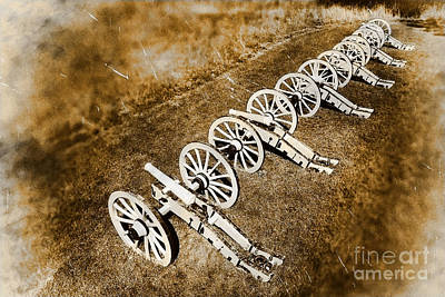 Photograph - Revolutionary War Cannons by Olivier Le Queinec