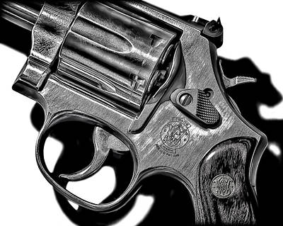 Photograph - Revolver by Walt Foegelle