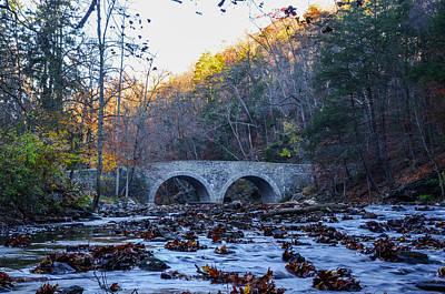 Rex Avenue Bridge Over The Wissahickon Creek Art Print
