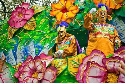 Mardi Gras Photograph - Rex Mardi Gras Parade X by Steve Harrington