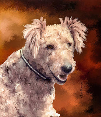 Painting - Rex The Terrier by Char Doonan