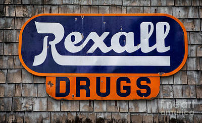 Rexall Drugs Art Print