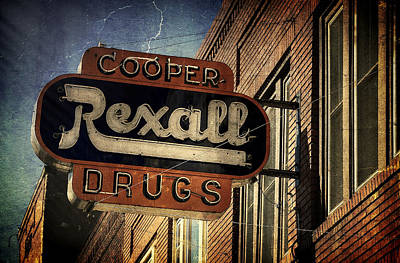 Photograph - Rexall Drugs by Ken Smith